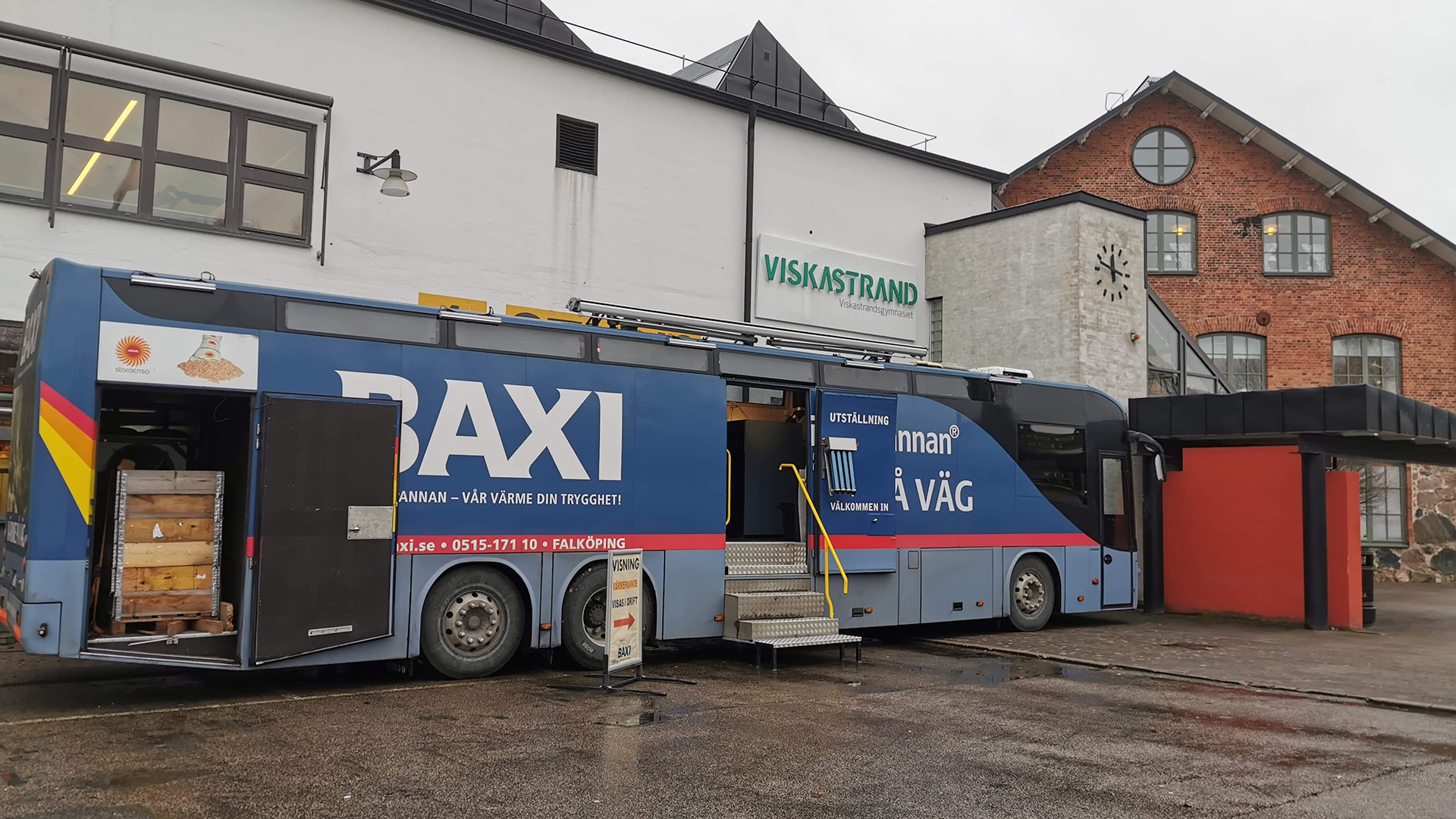 Företagsbuss för VVS-branschen