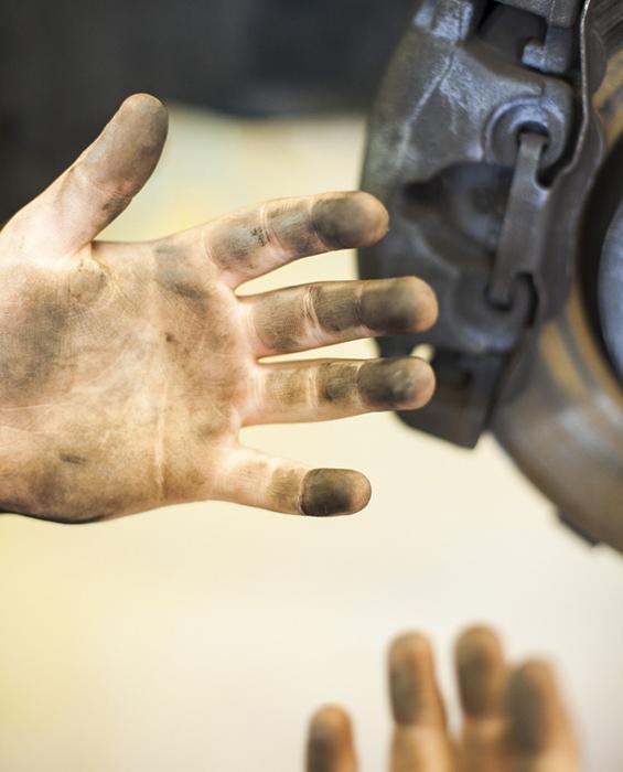 Smutsiga fingrar